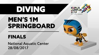 Download Video KL2017 29th SEA Games | Diving - Men's 1m Springboard FINALS | 28/08/2017 MP3 3GP MP4