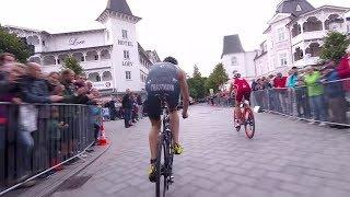 Mittendrin statt nur dabei - Stefan Zachäus beim Saisonfinale im Ostseebad Binz