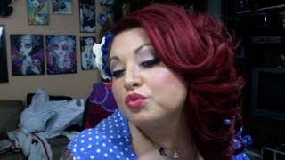 UPDATE: How 2 dye dark hair Red/Plum NO BLEACHING
