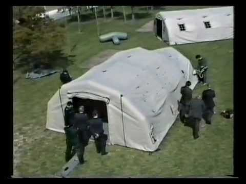Survitec Group products EV self erecting tent and Liferaft & Survitec Group products: EV self erecting tent and Liferaft - YouTube