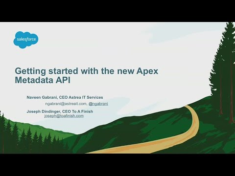 Getting Started with the New Apex Metadata API
