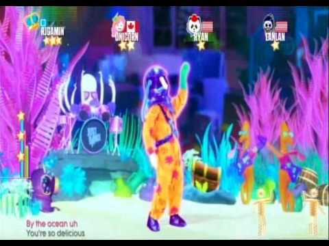 Copyrighted Fix  of Just Dance 2017 Cake By The Ocean (Wii)