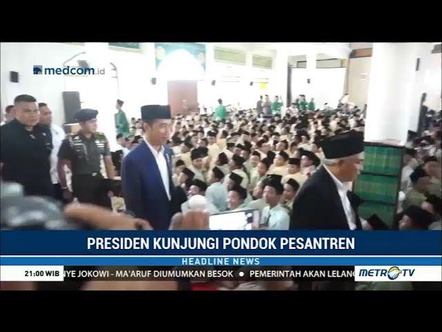 Jokowi Kunjungi Pesantren Amanatul Ummah di Mojokerto