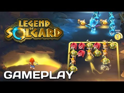 Legend Of Solgard - RPG Puzzle - Gameplay