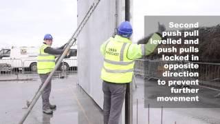 Oran Pre-Cast Twin Wall Installation