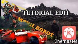 TUTORIAL GREEN SCREEN  KineMaster  Efek Mobil Robot