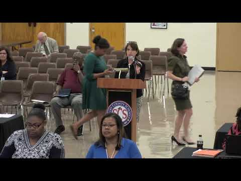 SCS School Board Work Session | May 21, 2018
