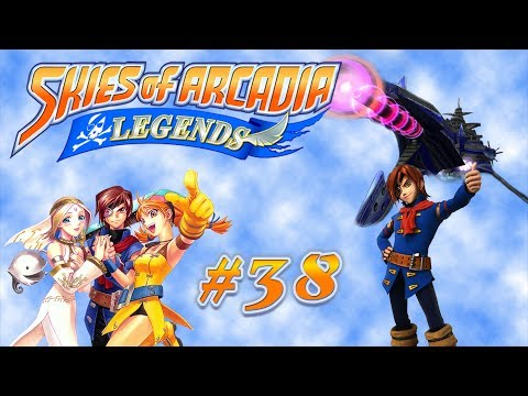 Let's Play Skies of Arcadia Legends [Part 38] Epic Captain Drachma