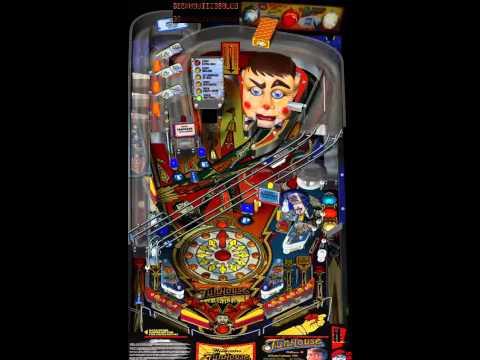 Visual Pinball - Funhouse 1990 - YouTube