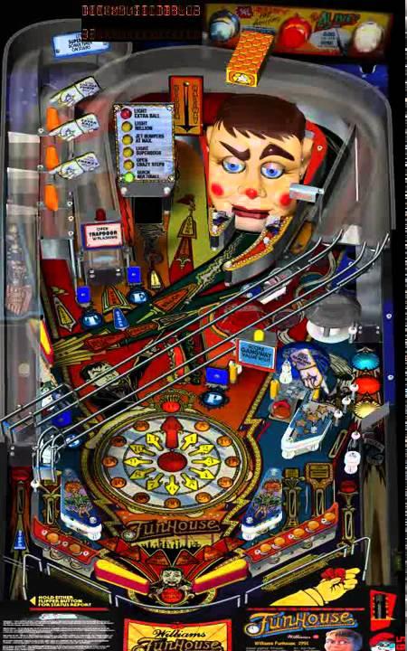 Visual Pinball - Funhouse 1990