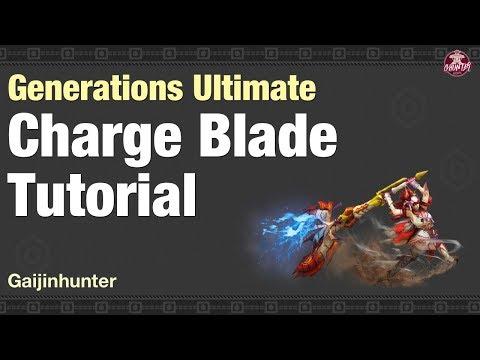 MHGU: Charge Blade Tutorial