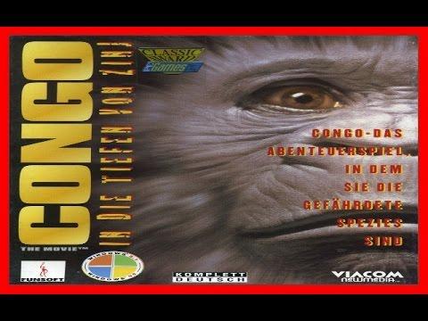 """Congo the Movie - In die Tiefen von Zinj 1995 PC (Congo - Descent into Zinj) """"Deutsch/German"""""""