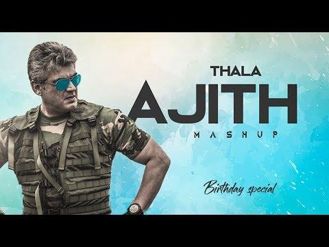 Thala Ajith Mashup | 2018 | Mass version | BGM | 720p HD | AB Creationz