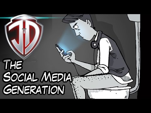 social networks and our young generation Our previous research on the millennial generation shows little  social media  introduced new dynamics to young people's social lives.