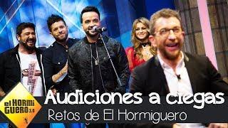 Los coaches de 'La Voz' se someten a las Audiciones a ciegas - El Hormiguero 3.0