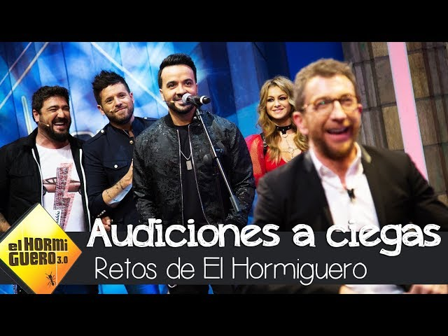 Los coaches de La Voz se someten a las Audiciones a ciegas - El Hormiguero 3.0