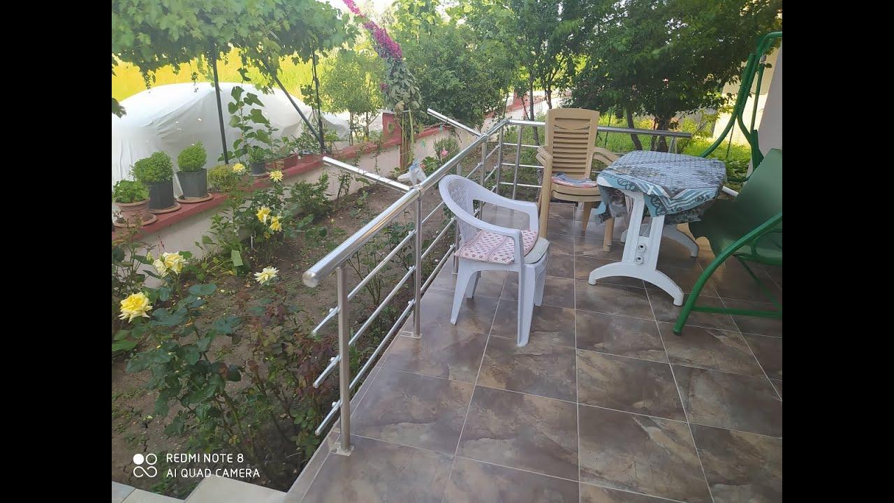 Satılık Bahçeli Masrafsız Tripleks villa ev-Denize yakın site içerisinde-Gönen Çifteçeşmeler