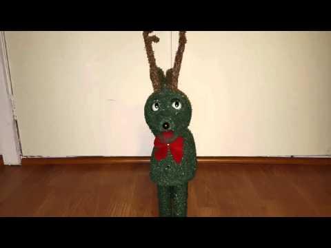 Rudolph - Singing Topiary Reindeer