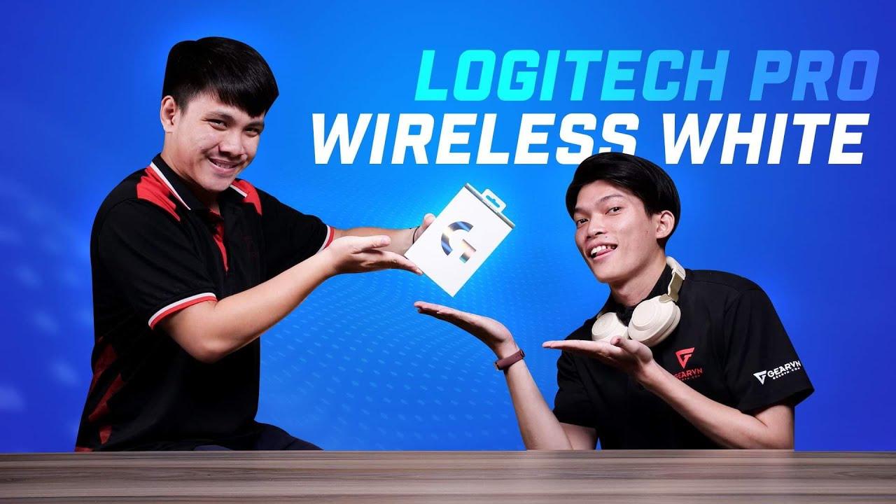 Việt Nam chỉ có 3 con - Logitech G Pro Wireless Ghost Edition