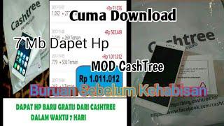 Download lagu Aplikasi MOD CashTree 100 Work MP3