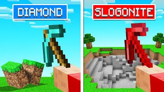 We Found SLOGO ORE In MINECRAFT! (powerful)