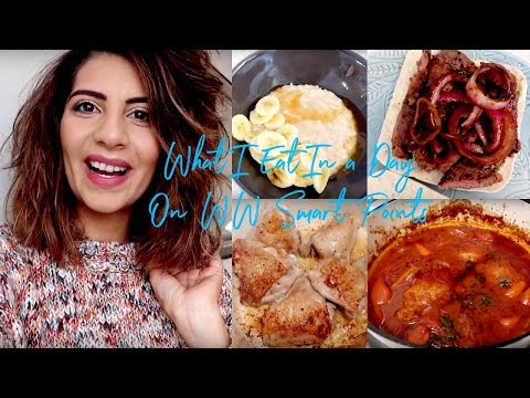 What I Eat in A Day On Weight Watchers | Natasha Summar