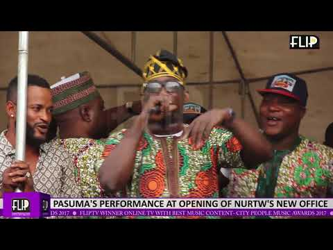PASUMA'S PERFORMANCE AT OPENING OF NURTW'S NEW OFFICE IN LAGOS