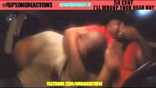 THE BEST flipsongreactions #21 50 CENT - I'll Whoop Your Head Boy