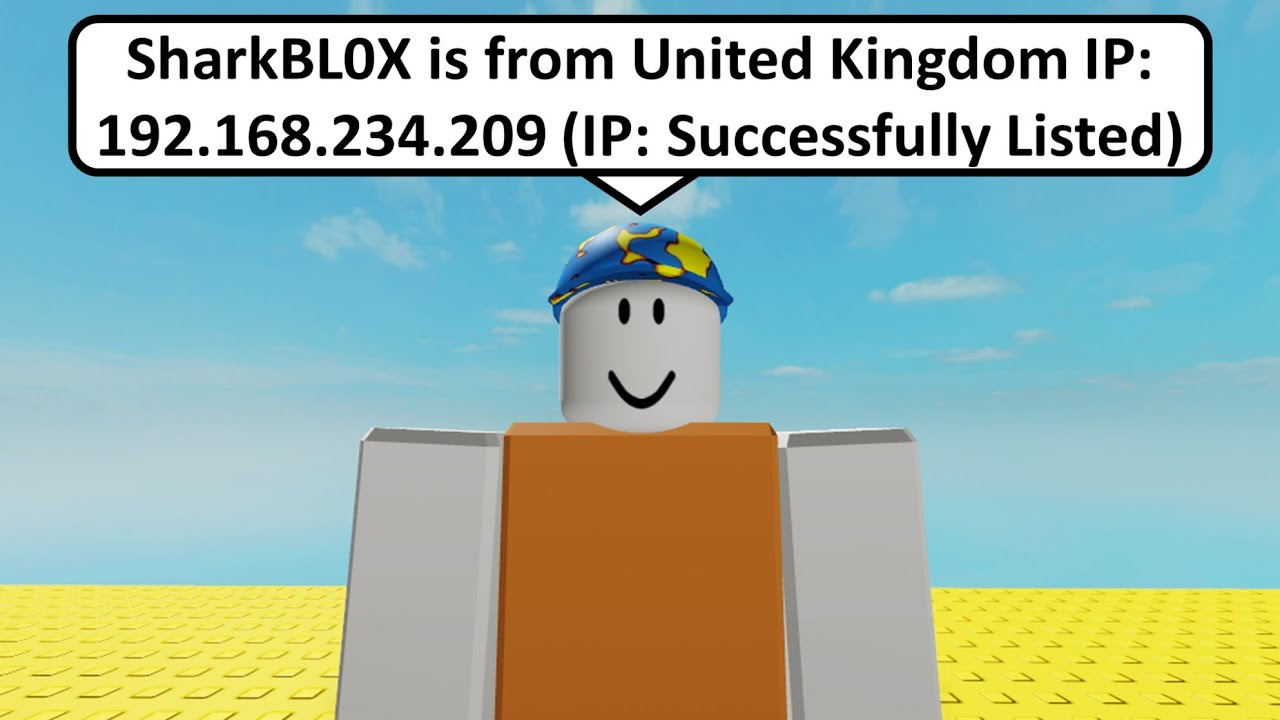Roblox Leaks Discord Did This Player Just Leak My Ip Address In