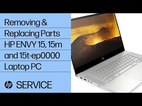 Removing & Replacing Parts | HP ENVY 15, 15m and 15t-ep0000 | HP Computer Service | @HPSupport