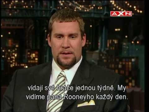 Ben Roethlisberger - Late Show with David Letterman (CZ Subtitles)