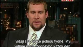 Ben Roethlisberger - Late Show with David Letterman (CZ Subtitles)