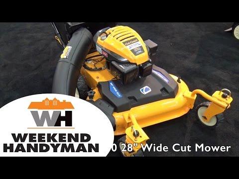 Cub Cadet CC600 28 Inch Wide Cut Lawn Mower | Weekend Handyman | #Cub_Cadet