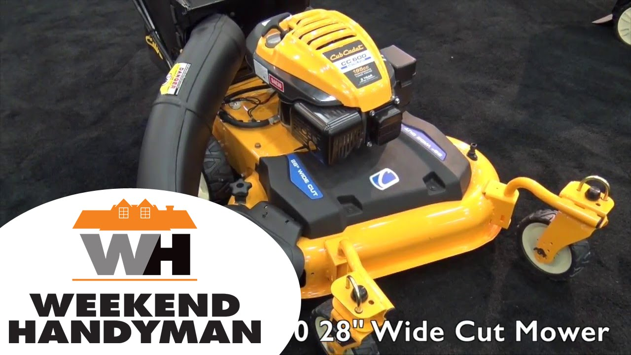 Cub Cadet Cc600 28 Inch Wide Cut Lawn Mower Weekend