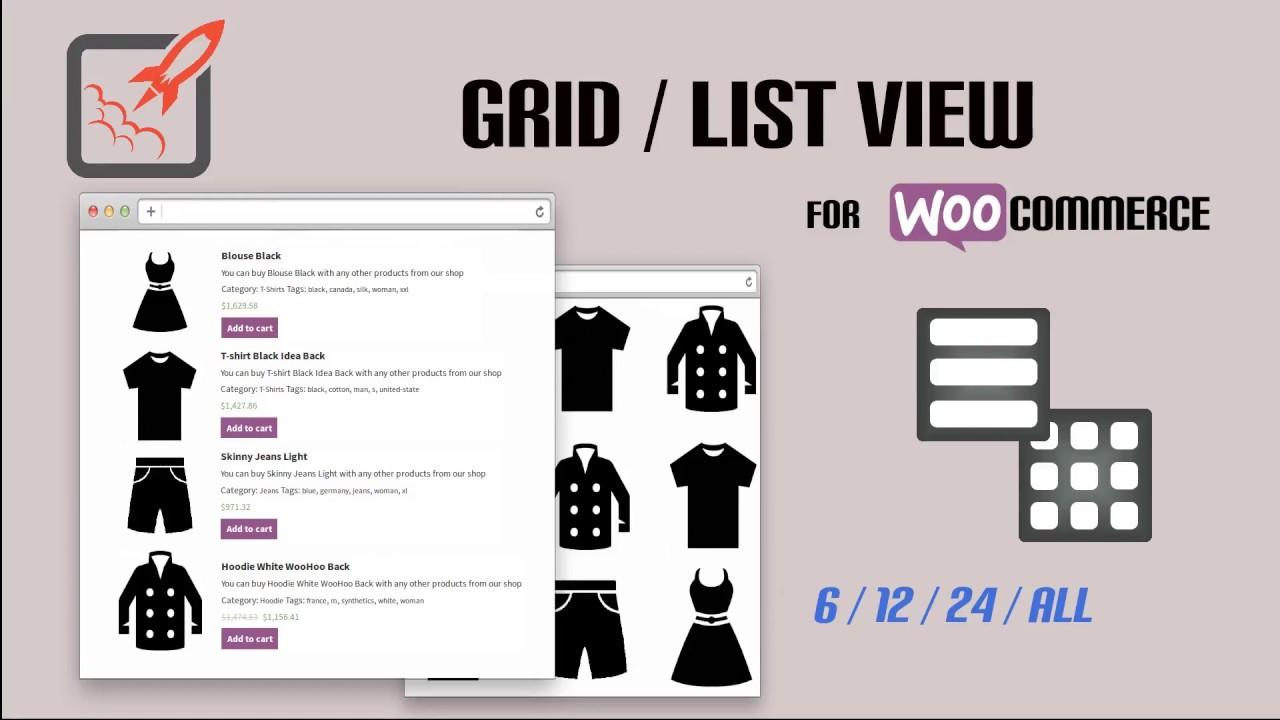 ec428774a9f3e Grid/List View for WooCommerce – WordPress plugin | WordPress.org