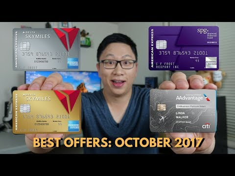 Best Card Offers October Delta 70k Citi Aa 60k