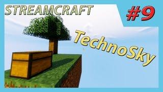 Minecraft | Streamcraft | TechnoSky-#9 (Первые животные !!!)