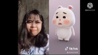 Tiktok compilation with green rabbit | cute bunny rabbit