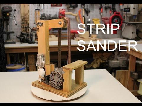 Strip Sander - Make DIY Build Plans
