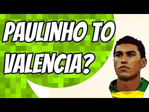Valencia and AC Milan chasing Paulinho