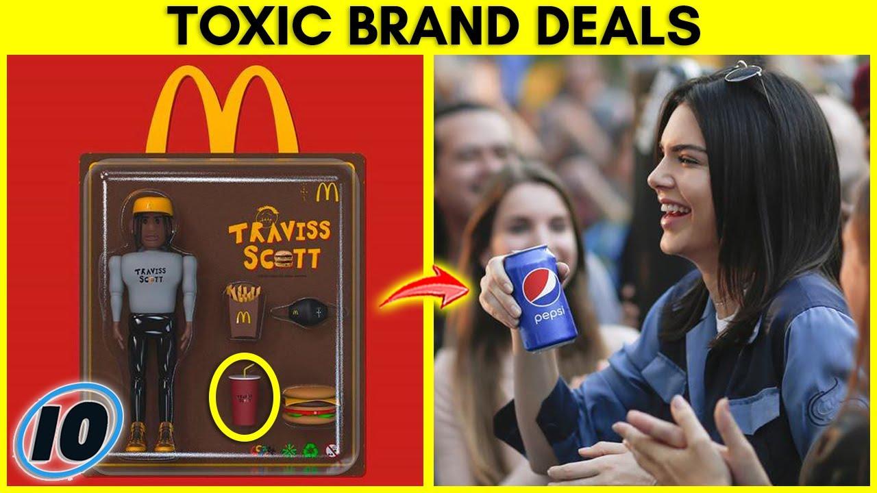Top 10 Toxic Celebrity Brand Deals