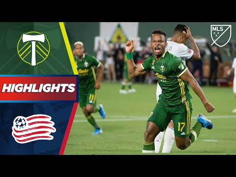 Portland Timbers vs. New England Revolution | 96th Minute Penalty! | HIGHLIGHTS