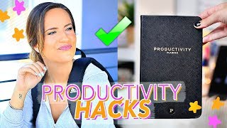 7 Back To School PRODUCTIVITY HACKS That Will Change Your Life!