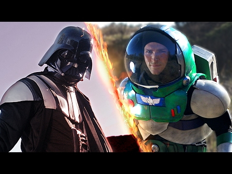 Thumbnail: Darth Vader VS Buzz Lightyear