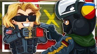 My whole team is dead, push me to the edge! - Rainbow Six Siege