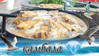 Одесса ПРИВОЗ 2020 КАК Я ЛЮБЛЮ ГОТОВИТЬ РЫБУ 2 блюда КАМБАЛА КАРАСЬ жарит Одесский Липован