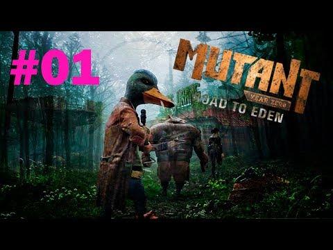 Mutant Year Zero: Road to Eden I Os Patrulheiros Dux e Bormin no Apocalipse - Gameplay HD