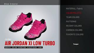 8bbb1aab7ceb NBA 2K19 Shoe Creator - Air Jordan 11 Low Custom