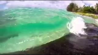 Deniz ikiye yarıldı