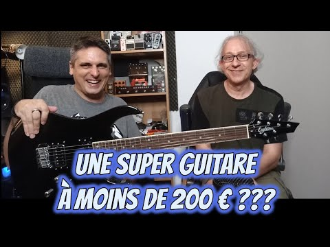 TEST : guitare EAGLETONE Raven par WOODBRASS